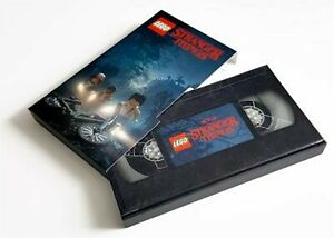 NEU-Lego-exklusive-fremder-Dinge-5005933-Video-Tape-Note-Book-Cassette-OVP