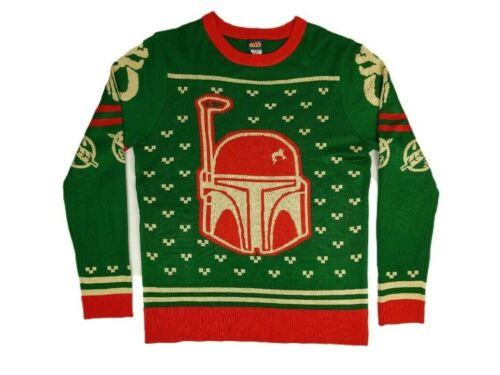 Star Wars Boba Fett Mandalorian Men's XL Pullover