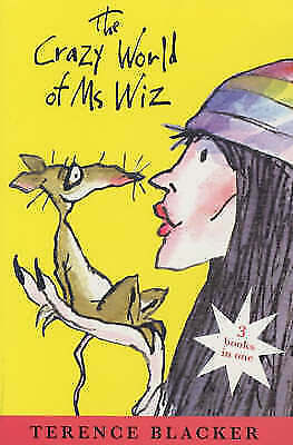 """AS NEW"" The Crazy World of Ms Wiz (3 BOOKS IN ONE), Blacker, Terence, Book"