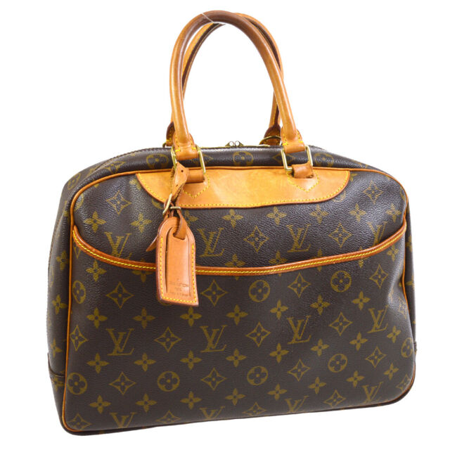 LOUIS VUITTON DEAUVILLE BUSINESS HAND BAG PURSE MONOGRAM CANVAS M47270 30729