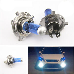 Super-White-H4-100W-9003-HB2-Bi-Xenon-HID-High-Low-Beam-Headlight-Bulb-6000K-2X