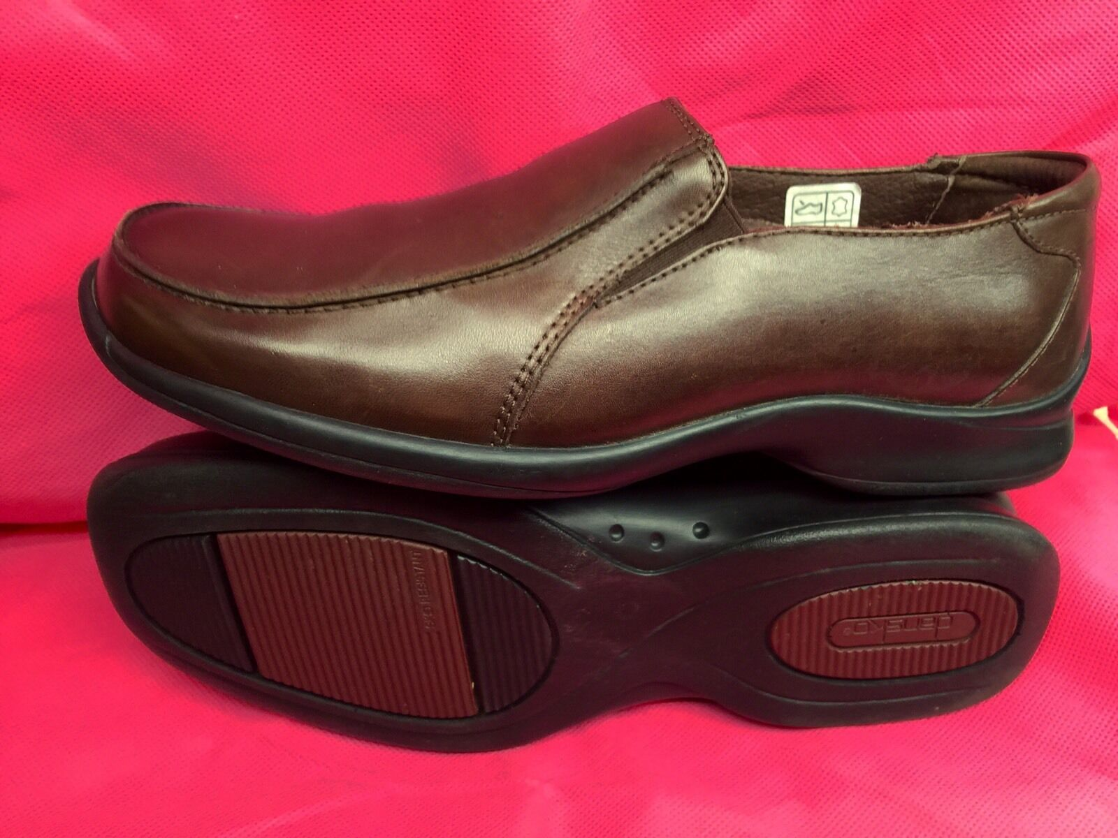 Dansko Professional Mens Brown Loafers Size 40 Good Condition