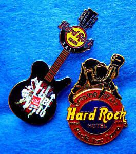 The-Who-Bali-Firma-Guitarra-amp-las-Vegas-Baston-Abertura-Hard-Rock-Cafe-2-Broches