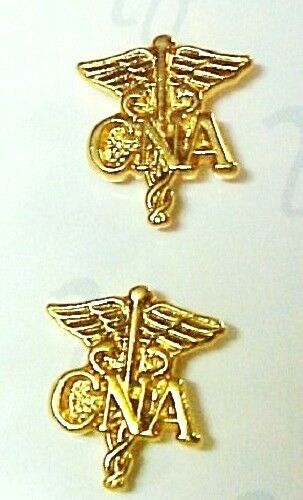 Latest Collection Of Vintage Cna Certified Nursing Assistant Lapel Pin Gold Tone Pendant Or Pin Style Jewelry & Watches Fashion Jewelry