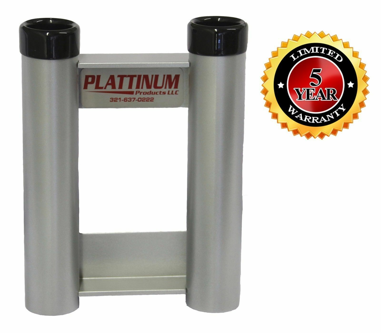 Plattinum, Aluminum Fishing Rod Holder Double Flush Mount  No Rust All Aluminum  discount sales