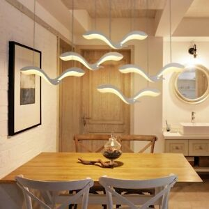 Details about Pendant Chandelier Lights Creativity Modern Led Birds  Patterned Dining Room Lamp