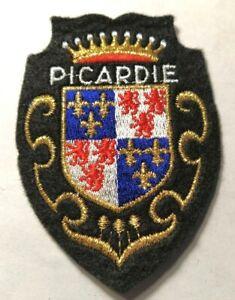 Ecusson brodé région Picardie
