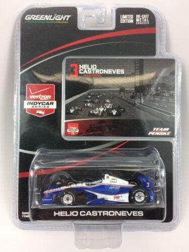 1:64 2015 Greenlight Helio Castroneves #3 AAA Team Penske IndyCar Diecast