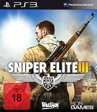 Ps3/Sony PlayStation 3 juego-Sniper Elite III (3) (con embalaje original)