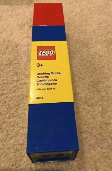Lego Brick Water Bottle Drinking Container # 4041 New 3+