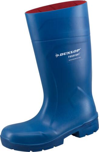 Sicherheitsstiefel Gummistiefel Dunlop Purofort MultiGrip blau S4 EU 36-49