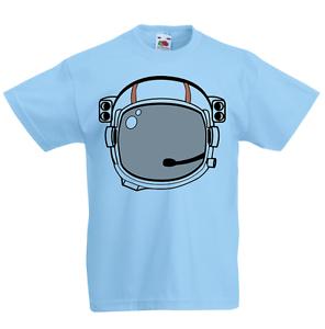 Astronauta Kid's T-shirt Niños Chicos Chicas Unisex Camisa dibujos animados Espacio NASA Galaxy  </span>