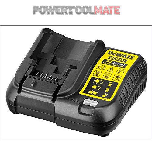 Dewalt DCB107 10.8v/14.4v/18v Multi Voltage Li-Ion XR Battery Charger