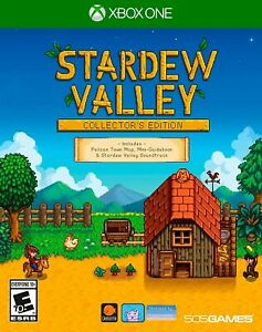 NEW-Stardew-Valley-Collector-039-s-Edition-Microsoft-Xbox-One-Video-Game