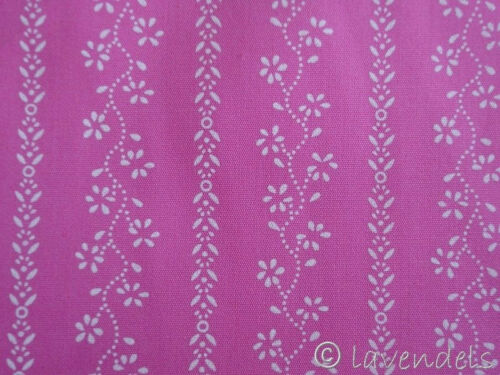 0,5 m Stoff Baumwolle ♥ Trachtenstoff pink ♥ Schürzenstoff Dirndl  rosa
