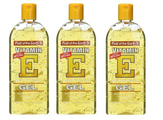 Fruit Of The Earth New Vitamin E Moisturizing Gel 12 oz. / 340g (Pack of 3)
