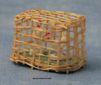Chickens In A Coop, Dolls House Miniatures, 1.12 Scale, Pets & Animals