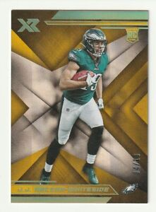 2019-Panini-XR-GOLD-Rookie-RC-JJ-J-J-Arcega-Whiteside-Philadelphia-Eagles-10