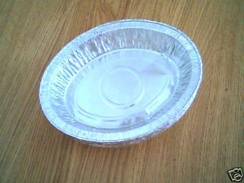 """50 x 7 1//4 /""""tarte ovale foil plats"""