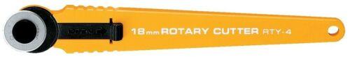 Olfa 18mm Rotary Cutter Rty-4 RB18 Blade Included Hobby Craft