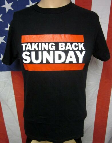 TAKING BACK SUNDAY old-school T shirt emo-punk tee
