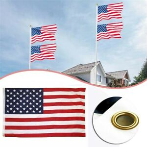 3-039-x-5-039-FT-USA-US-U-S-American-Flag-Polyester-Stars-Brass-Grommets-Stripes