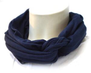 Fang professionelle Website Räumungspreise Details zu Loop infinity Schal für Erwachsene dunkelblau oder Wunschfarbe  60 Farbvarianten
