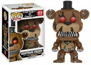Five Nights At Freddy's Pop! Funko Nightmare Freddy Vinyl Figure Games n° 111