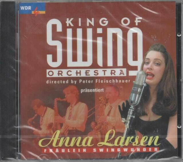 King Of Swing Orchestra Anna Larsen Fräulein Swingwunder CD NEU Ich sing Swing