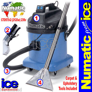 numatic ctd570 2 car valeting carpet upholstery wash cleaner machine equipment ebay. Black Bedroom Furniture Sets. Home Design Ideas