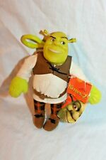 NEW WITH TAG SHREK PUSS DONKEY BACKPACK PLUSH CLIP ON 5 /""