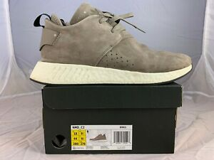 Adidas-NMD-C2-Chukka-Brown-Suede-Shoes-Size-Mens-US-10-BY9913