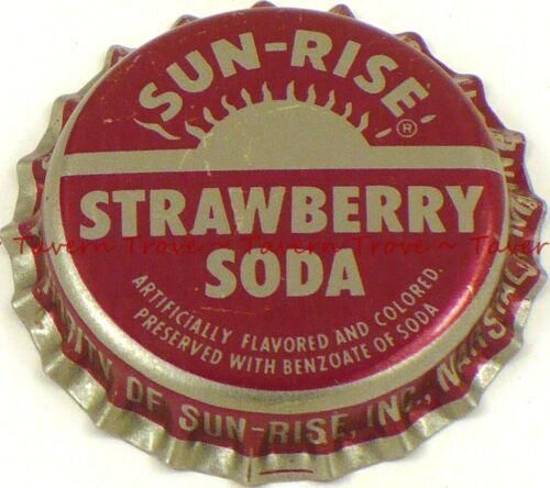 1960s MINNESOTA Marshall SUN-RISE STRAWBERRY SODA Crown Tavern Trove