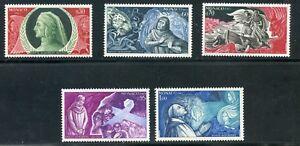 Stamp / Timbre De Monaco Serie N° 683/687 ** Naissance De Dante Alighieri