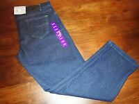 Rogue State Men's Classic Straight Leg Dark Denim Blue Jeans Size 40x32