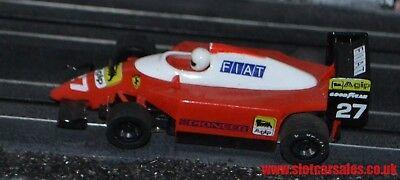 Scalextric brand new grippy 90s F1 front slick car tyres tires Ferrari eg spares