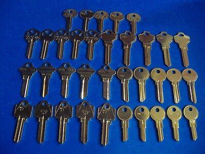 Blank Keys set of 5 KW10 5 keys total
