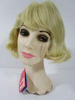 Vintage Wig Short Hair Blonde Bangs Elura Usa 309-613 Never Worn