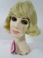 Vintage Wig Short Hair Blonde Bangs Elura Usa 309-613 Never Worn
