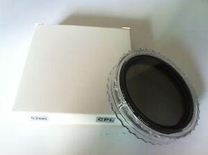 NEW-52mm-CPL-Polarizing-Filter-for-Nikon-D5200-D5100-D3200-D3100-18-55mm-Lens