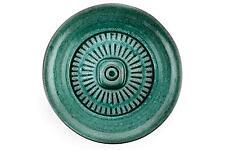 Un tazón de fuente verde Mari simmulson Pared Ekeby Vintage Década de 1950 años 60 sueco
