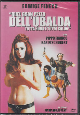 Quel gran Pezzo dell' Ubalda Tutta Nuda Tutta calda DVD Nuovo Sigillato Fenech
