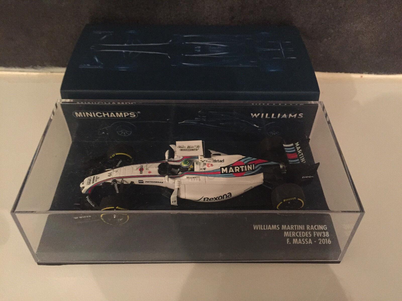 Williams Mercedes FW38 Massa 2016 Minichamps 1 43