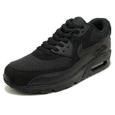 Nike Air Max 90 Essential NoirNoir 537384 090 Baskets | eBay