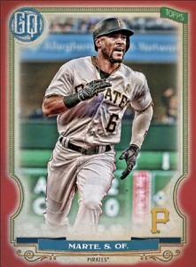 2020 Topps BUNT Starling Marte Gypsy Queen RED Base ICONIC! [DIGITAL CARD}