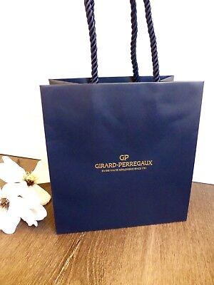 Nachdenklich Girard Perregaux ☆ Uhren Wrist Watch Tasche Tragetasche Papiertasche Bücher Bag