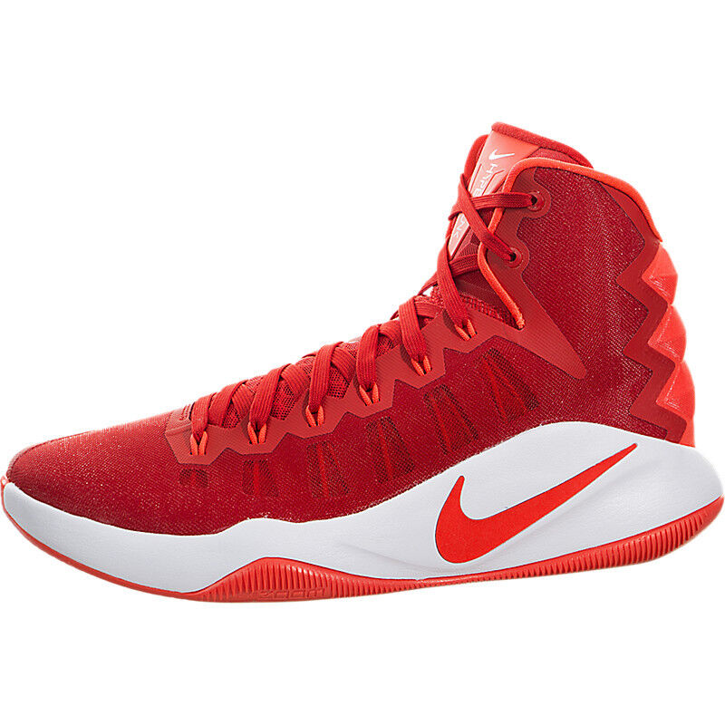Nike Hyperdunk 2016 Basketball Shoes Red Crimson White 844359-661 SIZE 9
