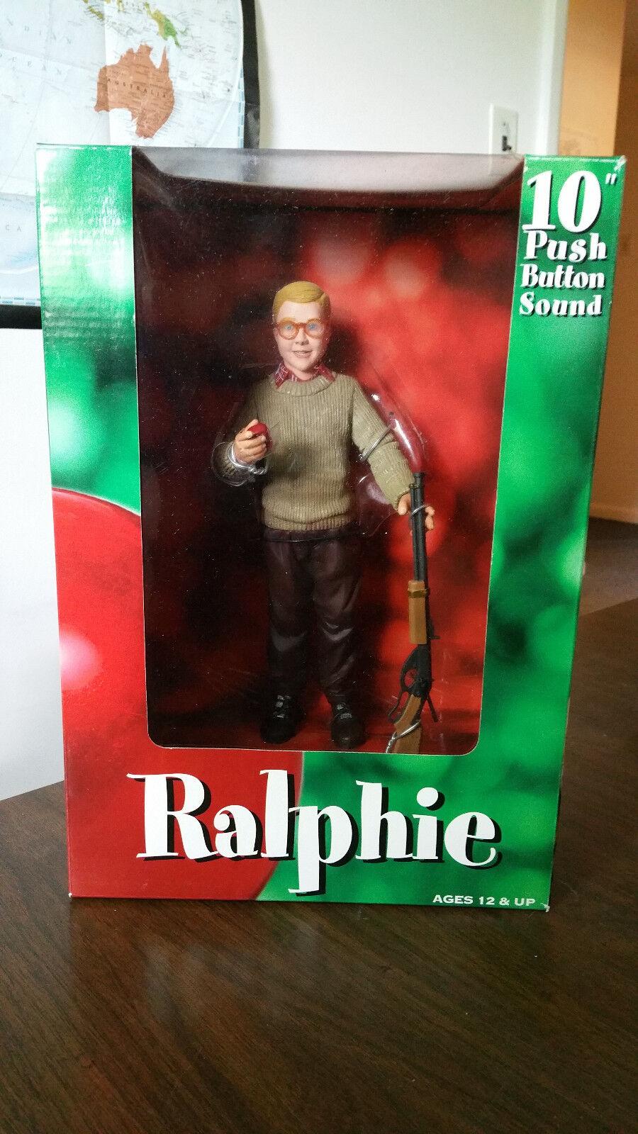 Un Cuento De Navidad Ralphie hablando Fig. Coleccionistas De Grado 18+
