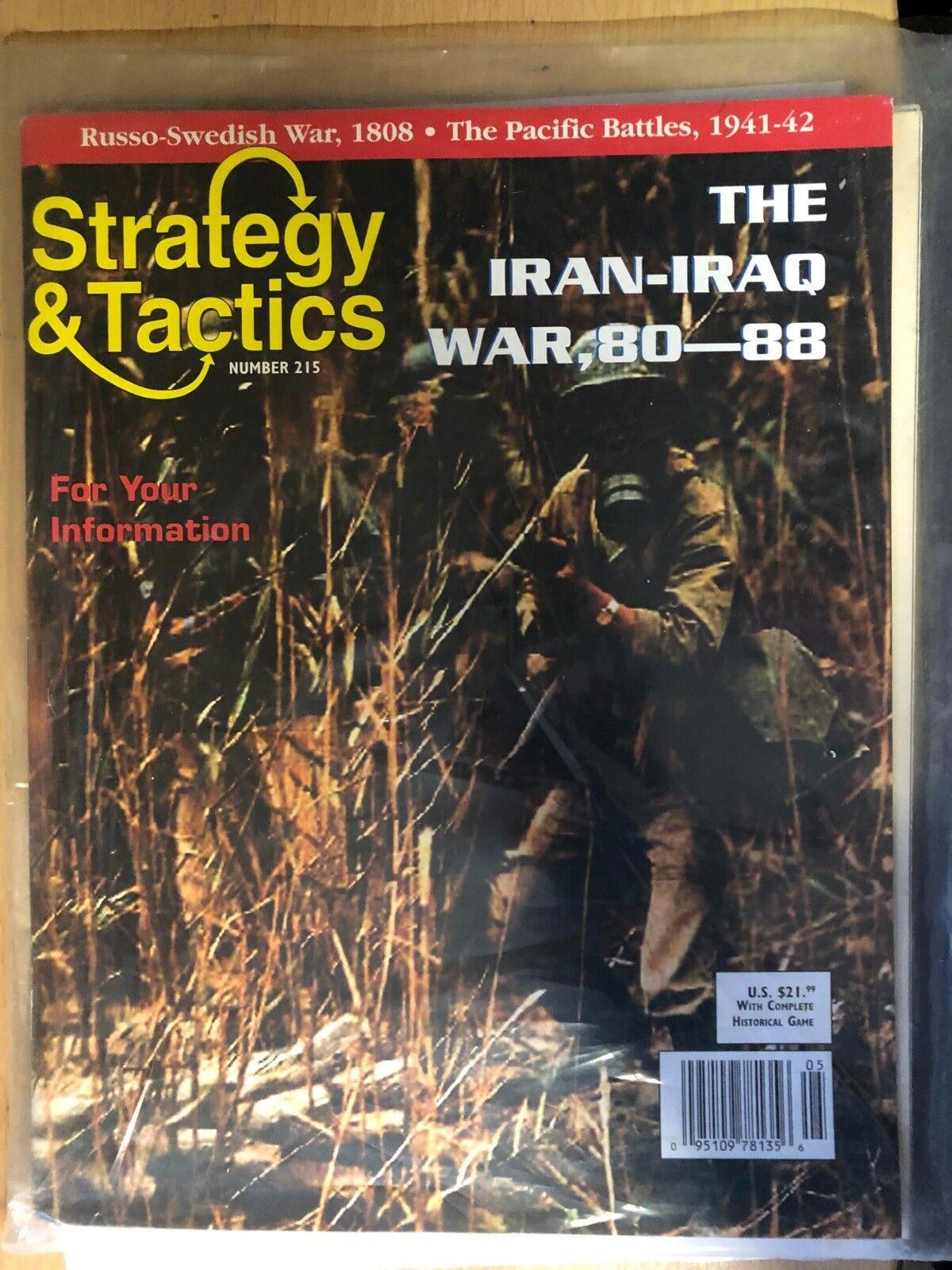 Strategie & Taktik 215 - The Iran-Iraq Krieg, 80-88