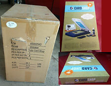 Wholesale Lot  8xYudu CardShop Personal Card Screen-Printer Carton   2000899